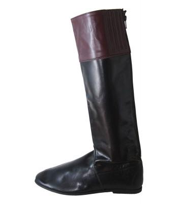 Jockeystövlar långa - Äkta läder - Hinderlöpning, Monté, Galopp
