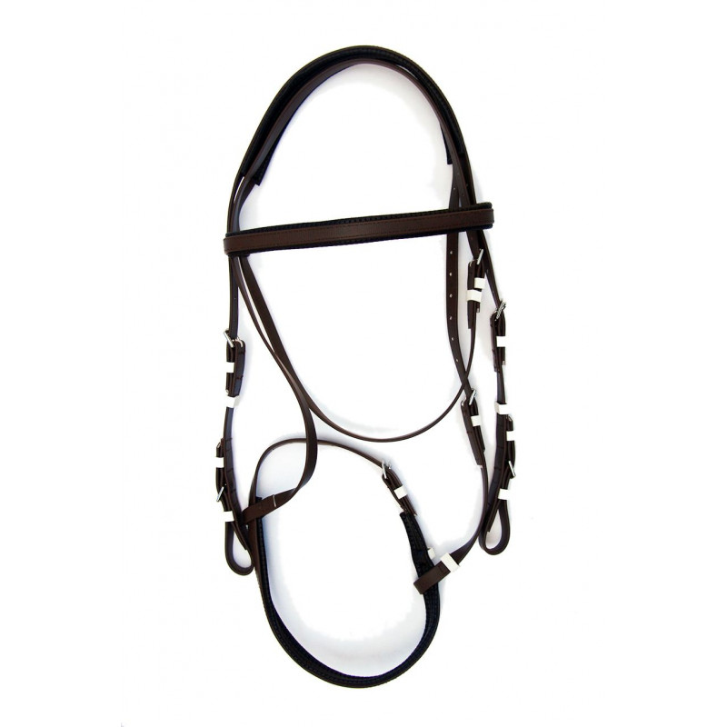 Race Bridle W Cavesson Noseband