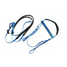 """Galoppset """"Race"""" träns och tyglar PVC - Plastträns - Flera färger"""