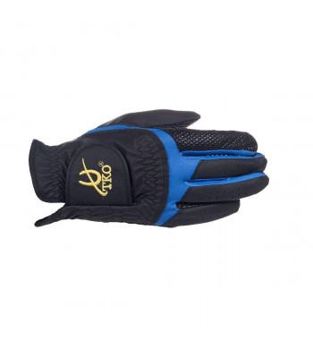 TKO Race Glove Silicone - Svart/Blå