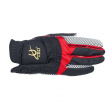 TKO Race Glove Silicone - Black/Red