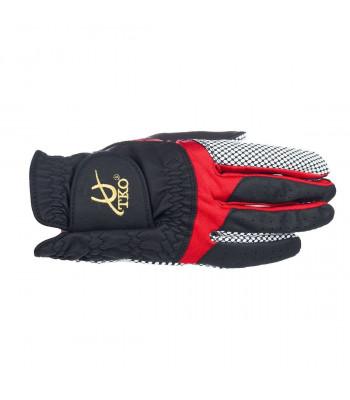 TKO Race Glove Silicone - Svart/Röd