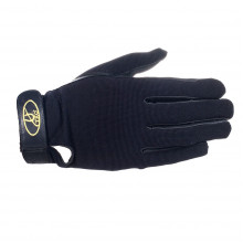 TKO All Weather Synthetic Leather Race Glove - Svart