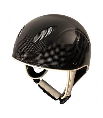 UoF Helmets - Carbon Race - Jockeyhjälm Kolfiber