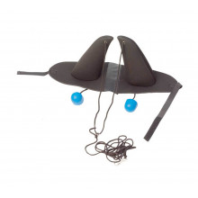 Zilco Huva med öronproppar - Vadderade öron