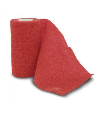 Valueline Vet-Flex - Elastiskt Självhäftande förband - Röd