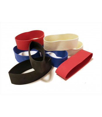 Wrist rubber bands - Various colors - Sold in pairs