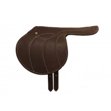Exercise saddle softback - real leather - USA-style